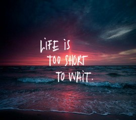 Life is too short hd wall