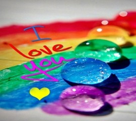 Colourfull love