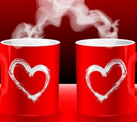 Cup of love hd wide wallp