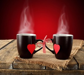 Love cups hd wide wallpaper for laptop