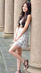 Asian girl iphone wallpaper