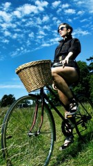 Bicycle ride iphone wallpaper ,wallpapers,images,