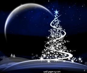 Christmas tree with lights hd wallpaper for laptop mobile ,wallpapers,images,