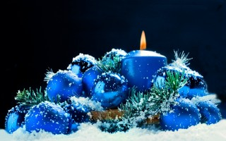 Christmas candles hd wallpaper for laptop mobile