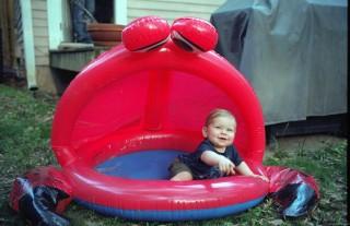 Baby in dry tub.jpg