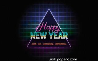 Simple happy new year 2017 hd wallpaper
