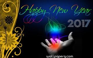 Beautiful new year hd wallpaper for mobile