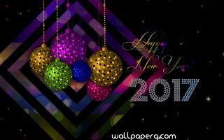 New year hd wallpaper for mobile 2017