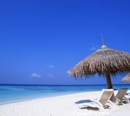 Blue beaches hd wallpaper