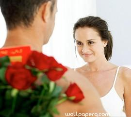 Propose with flowers hd wallpaper for laptop ,wallpapers,images,