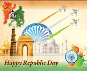 Wishing republic day 26 jan wallpaper image