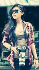 Female photographer hd wallpaper for girls profile picture