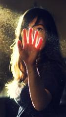 Girl and glass picture for girls dp