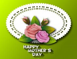 Creative mothers day wallpaper