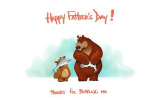 Cute happy fathers day hd