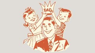 Happy fathers day image crown