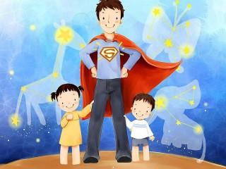 Super papa hd wallpaper