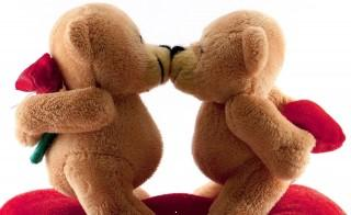 Teddy day hd wallpaper for mobile