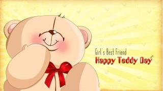 Teddy day hd wallpaper for wishing