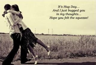 Happy hug day hd image