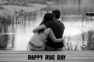 Happy hug day hd wallpaper for mobile