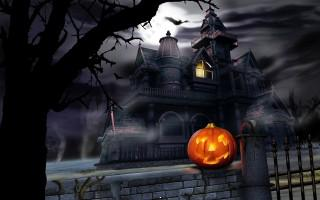 Halloween nights hd wallpaper