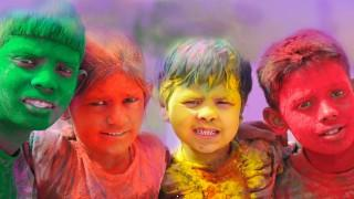 Holi hd wallpapers with colourful faces