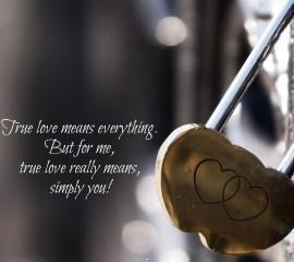 Heart lock quotes for mobile