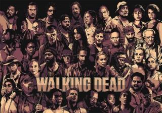 The walking dead hd wallpaper full team