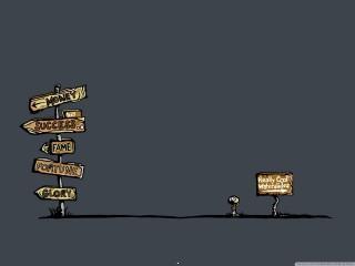 Life choices wallpaper