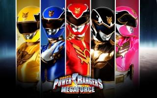 Tv serial power ranger 8