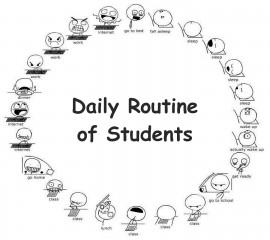 Students routine 2