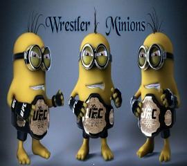 Wrestler minions