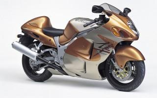 Suzuki gsx1300r gold