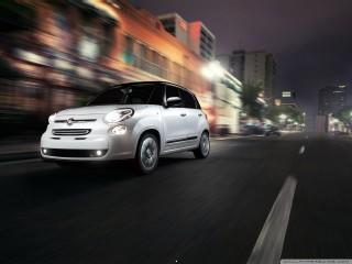 2014 fiat 500l city wallp