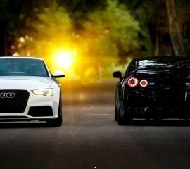 Audi versus nissan