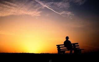 Pleasant sunset