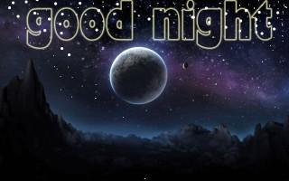 Good night moon hd wallpaper