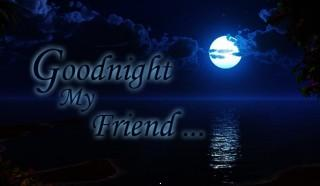 Good night my friend wall