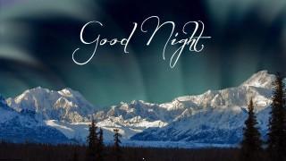 Good night wish wallpaper