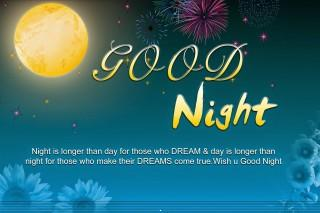 Cool good night wallpaper