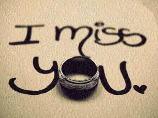 Ring of i miss you