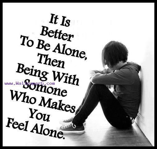 Sad Boy Alone Quotes: Download Its Better To Be Alone