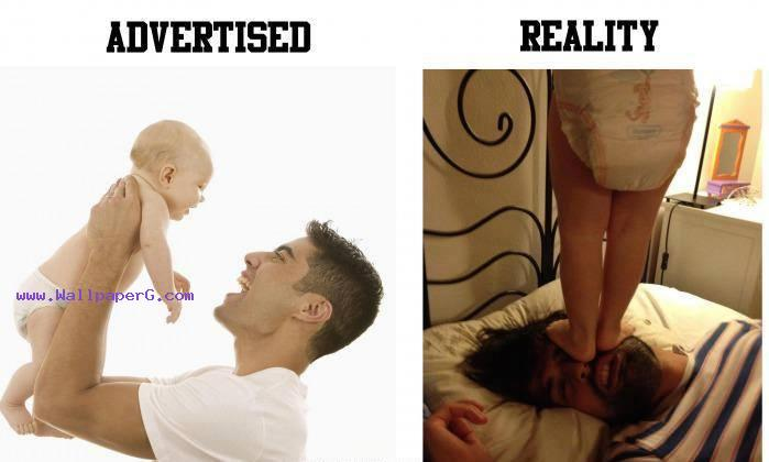 Reality with a baby