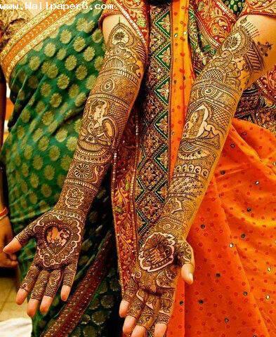 Bridal mehendi design ,wide,wallpapers,images,pictute,photos