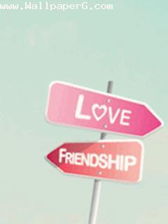 Love or friendship