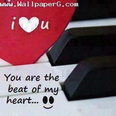 You r the beat of my heart