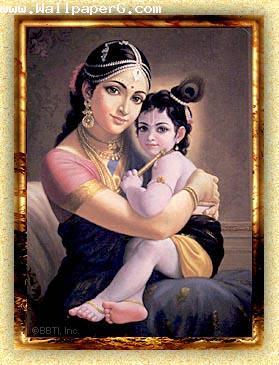 Yashoda sang krishna