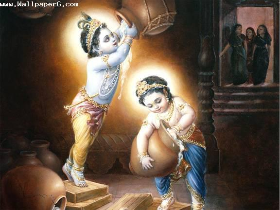 Makkan churate krishnaji ,wide,wallpapers,images,pictute,photos