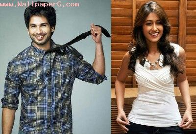 Shahid kapoor and ileana
